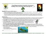 The Lord of the Flies Visualization: Common Core Formative Assessment/Synthesis