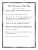 The Lord of the Rings Part I: Fellowship of the Ring Literature Unit