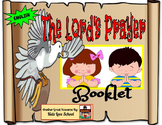 The Lord's Prayer-Our Father-Four booklets and art activit
