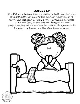graphic about The Lord's Prayer Coloring Pages Printable referred to as The Lords Prayer Coloring Webpage