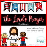 The Lord's Prayer - Craftivity {Traditional version}