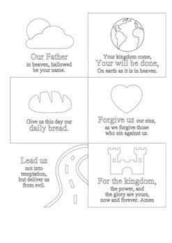 The Lords Prayer Handout