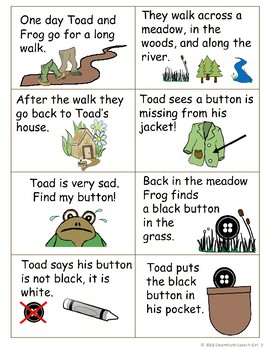 """""""A Lost Button"""" Story Sequencing Cards FREEBIE!!!"""