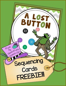 The Lost Button Story Sequencing Cards