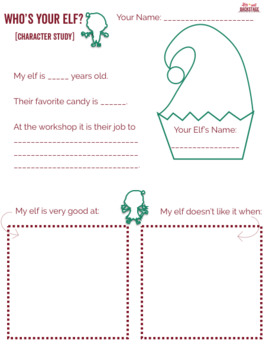 The Lost Christmas List - Worksheets