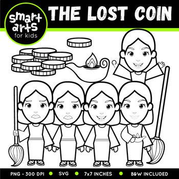 The Lost Coin Clip Art