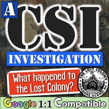 lost colony of roanoke social studies investigation a csi. Black Bedroom Furniture Sets. Home Design Ideas