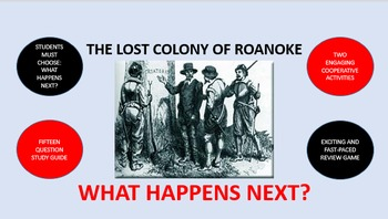 The Lost Colony of Roanoke:  What Happens Next?