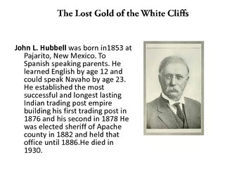 The Lost Gold of the White Cliffs