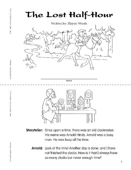 The Lost Half-Hour (Leveled Readers' Theater, Grade 3)