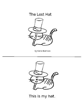 The Lost Hat: An -at Family Emergent Reader