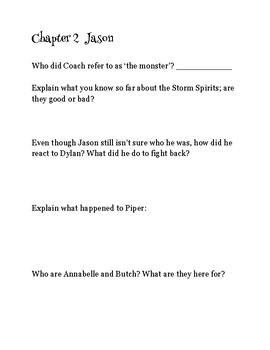 The Lost Hero comprehension questions