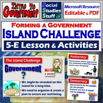 "The ""Lost"" Island Activity- Why do we have governments?"