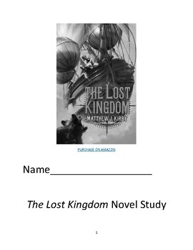 The Lost Kingdom Work Packet