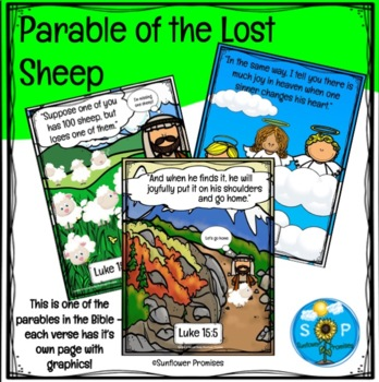 The Lost Sheep Scripture Cards