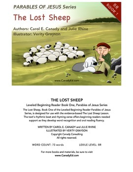 The Lost Sheep Book based on Matthew 18:12-14 (Parable of