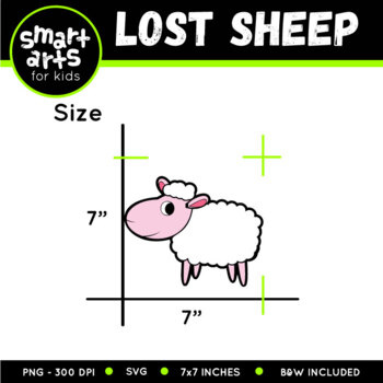 The Lost Sheep Clip Art