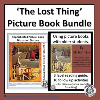 The Lost Thing Reading Activity Bundle
