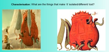 The Lost Thing by Shaun Tan - Literacy Unit