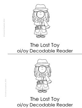 The Lost Toy:  An oi/oy Decodable Easy Reader