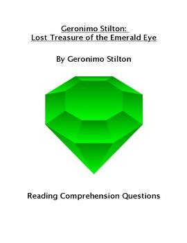 Geronimo Stilton: Lost Treasure of the Emerald Eye Reading Comprehension Questio