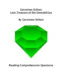 Geronimo Stilton: Lost Treasure of the Emerald Eye Reading