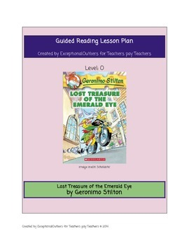 Lost Treasure of the Emerald Eye Guided Reading Lesson Plan