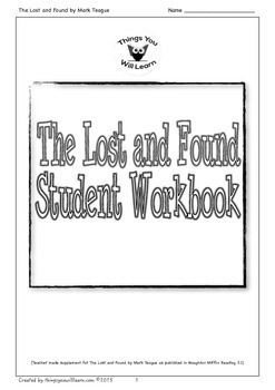 The Lost and Found Student Workbook