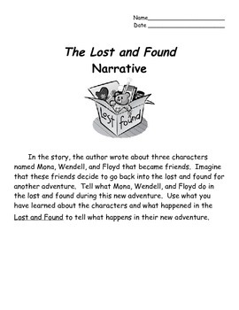 The Lost and Found by Mark Teague Activities