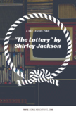 The Lottery: 4 Day Lesson Plan