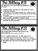The Lottery Close Reading Task Cards