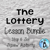 "Shirley Jackson's ""The Lottery"" Lesson Bundle- Stop & Jot, Jigsaw {CCSS Aligned}"