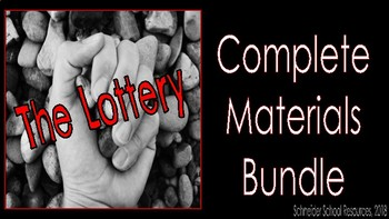 The Lottery: Complete Materials Bundle