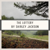 The Lottery Distance Learning Close Reading Short Story Lesson