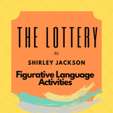 The Lottery Figurative Language Activities