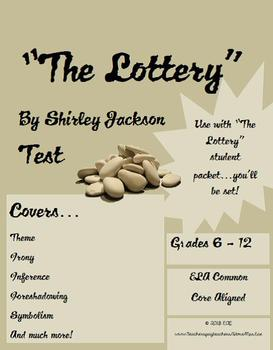 """""""The Lottery"""" Final Test (complement to packet)"""