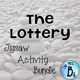 "Shirley Jackson's ""The Lottery"" Jigsaw Critical Thinking Activity {CCSS Aligned}"