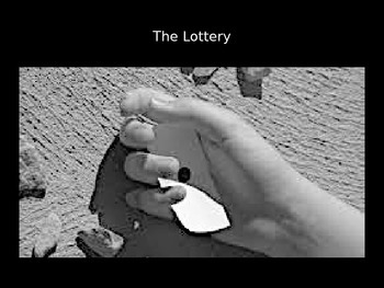 The Lottery PowerPoint