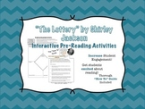 """The Lottery"" Pre-Reading Tasks- ""Tea Party"" and ""Roundtable"" Activities"