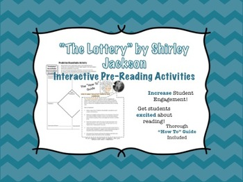 """""""The Lottery"""" Pre-Reading Tasks- """"Tea Party"""" and """"Roundtable"""" Activities"""