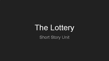 The Lottery Presentation