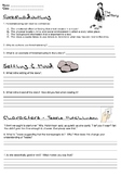 The Lottery - Review worksheet