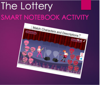 The Lottery--Shirley Jackson SMARTLab Matching Activity