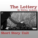 The Lottery - Short Story Unit