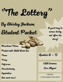"""""""The Lottery"""" Student Packet (complement to test)"""