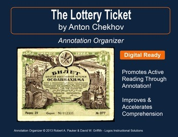 """The Lottery Ticket"" by Anton Chekhov: Annotation Organizer"