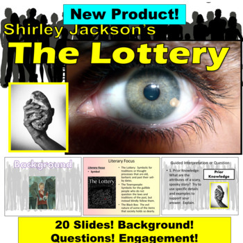 The Lottery by Shirley Jackson: Ultimate Short Story Introduction PowerPoint