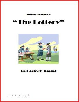 """""""The Lottery"""" Unit Activity Packet"""
