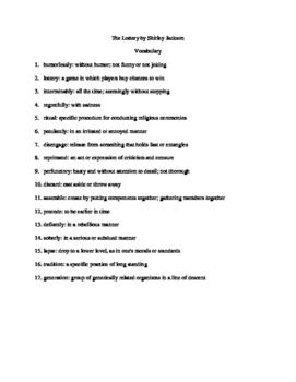 Pdf vocabulary test