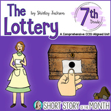 The Lottery by Shirley Jackson Short Story Unit